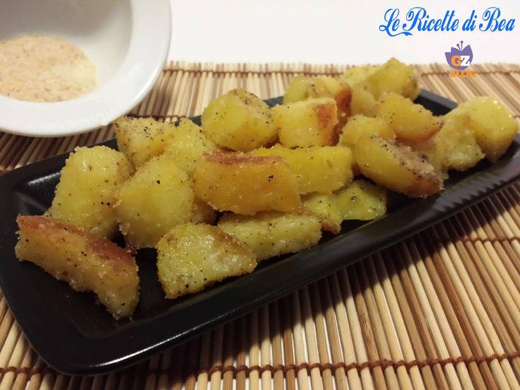 L'avete mai provata la #patata così? E' un ottimo contorno, la #ricetta è nel mio #lericettedibea http://blog.giallozafferano.it/lericettedibea/patate-sabbiose/
