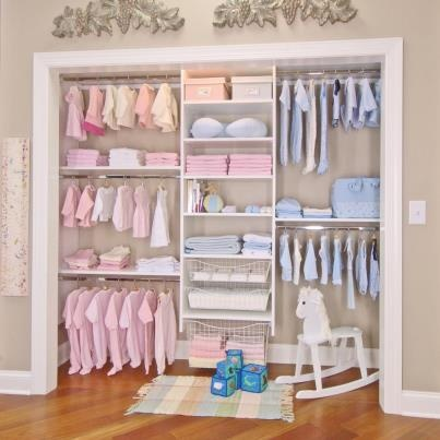 Great For Organizing The Nursery Closet! Check Out Marco Shutters U0026 Closets