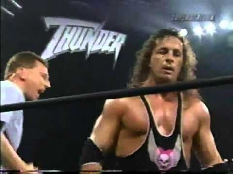 US Title   Lex Luger vs Bret Hart   Thunder Aug 13th, 1998 - YouTube