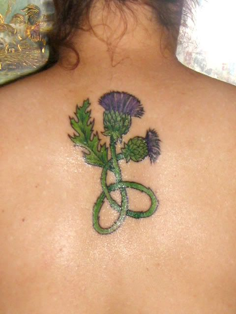 Scottish Gaelic Tattoos woman | Edited by LorinaLynn On July 4, 2011 7:30 pm