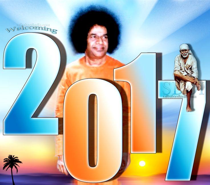 happy-new-year-2017-sri-sathya-sai-baba  #SBOI