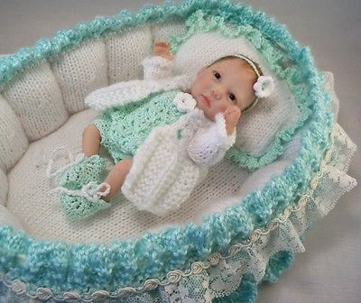 OOAK Polymer Artist Baby Doll ~ Plus Many Extras!