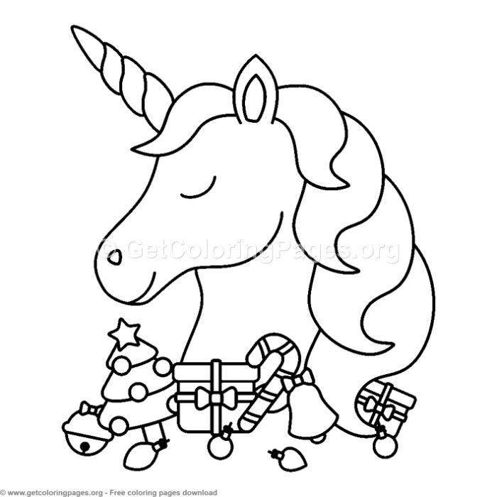 16 Cute Christmas Unicorn Coloring Pages Unicorn Coloring Pages Christmas Unicorn Christmas Coloring Pages
