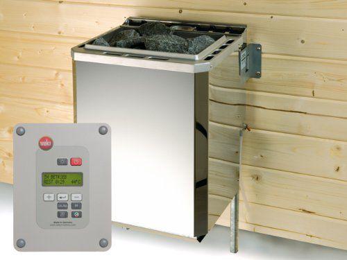 Weka Saunaofen-Sparset BioAktiv 7,5 kW Produkt: Weka Saunaofen-Sparset BioAktiv 7,5 kW Ma�e: 38 x 36,6 x 66,8 cm Anschluss: 400 Volt Drehstrom Steuerung: Extern F�r Kabinengr��e: von 5 bis 10 cbm Au�enmaterial: Edelstahl