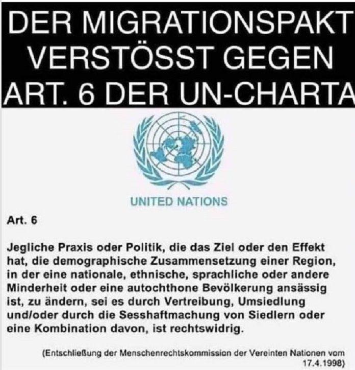 Blamage für Merkel und UN: Der Migrationspakt verstösst gegen Art. 6 der UN-Charta – news-for-friends.de – steve rogers