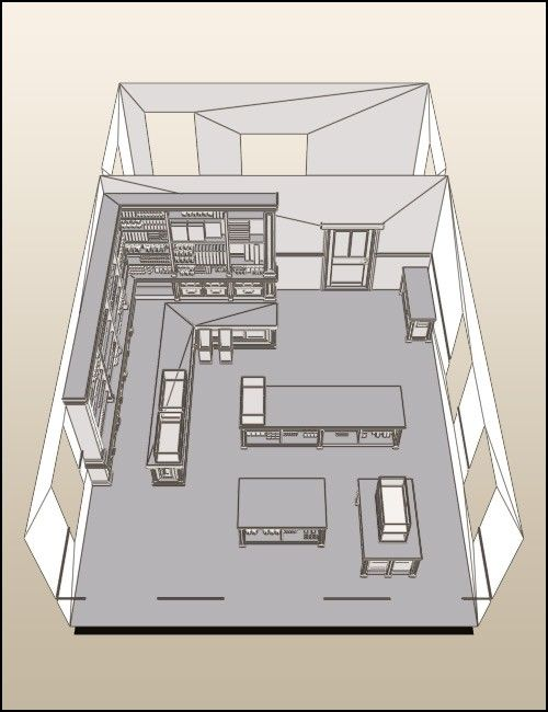 floor layout for general store old west town