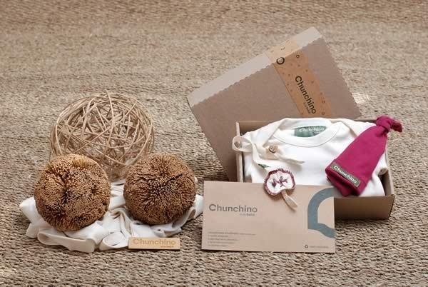 Packaging de cartón redActivos — para los Kits Chunchino eco-bebe. Sin cargo, pero opcional. $0