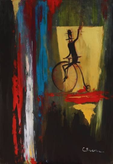 "Saatchi Art Artist Florin Coman; Painting, ""Gerhard Richter Tribute 2"" #art"