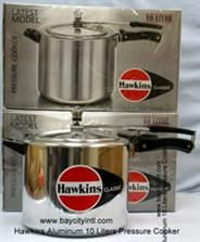 Hawkins classic pressure cookers are suitable for gas, electric, halogen and ceramic cook tops.   We also carry genuine replacement parts for Hawkins pressure cookers. All orders for parts for Hawkins pressure are shipped by US Mail 1st class parcel post.