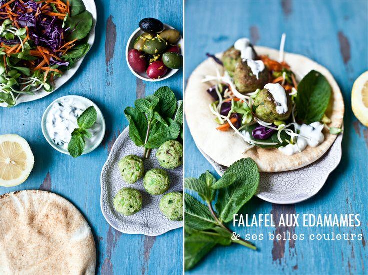 Falafels aux Edanames // Mes premiers falafels maison, miam!