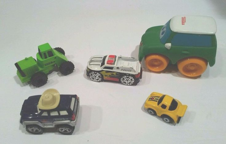 Tonka, Miasto and others die cast vehicles sheriff, police, mini car lot of 5 #Tonka