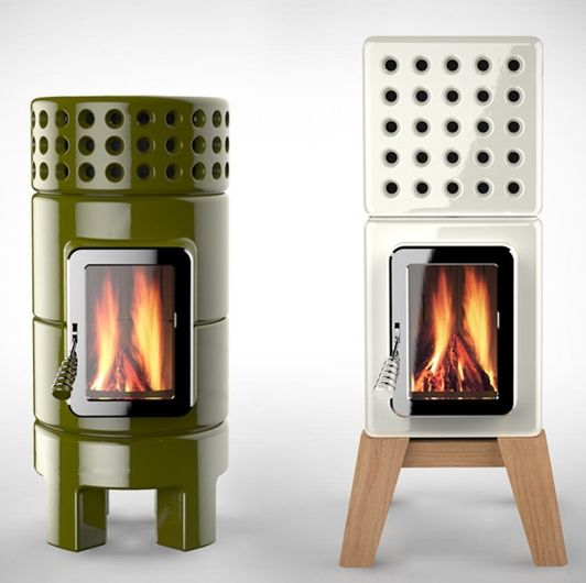 Stack Stoves by Adriano are the ultimate in home heating. Seamlessly blending functionality with gorgeous aesthetics, these ceramic forged stoves, available in a range of finishes and colors and in round or rectangular styles, are as mesmeric as the flames that tickle their insides.