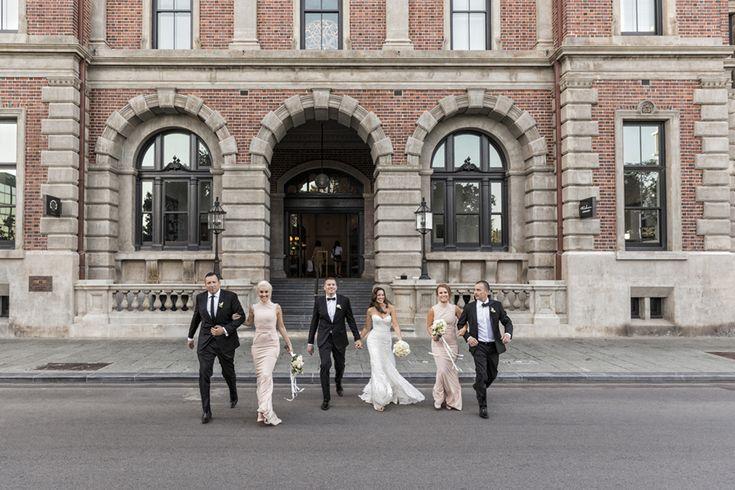 como treasury perth wedding, bridal portraits perth
