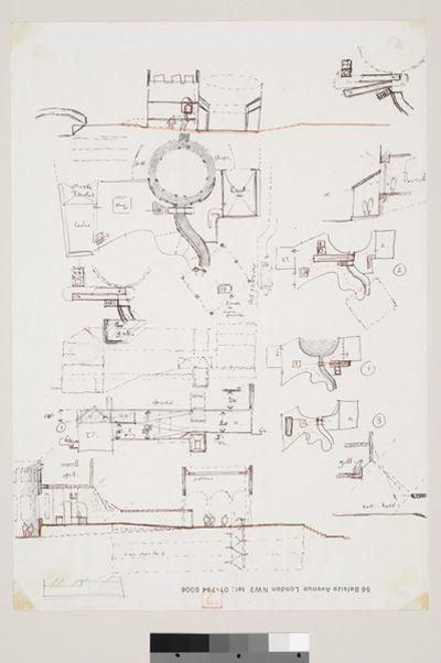 James Stirling drawings