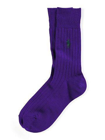 Polo Ralph Lauren Ribbed Trouser Socks - Polo Ralph Lauren Socks - Ralph Lauren France