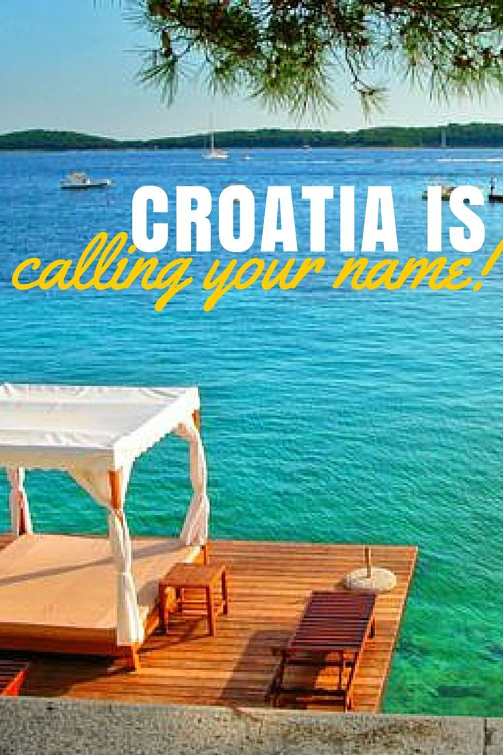 Just a few of the many reasons you need to book a holiday and travel to Croatia!