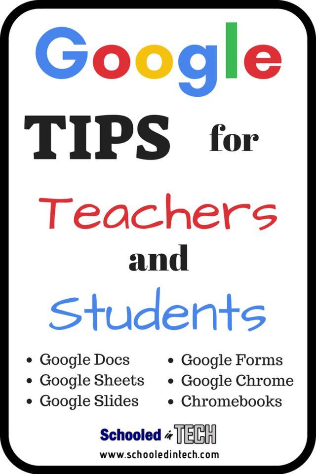 Google Ideas for Academics and College students utilizing Google Docs, Google Sheets, Google S…