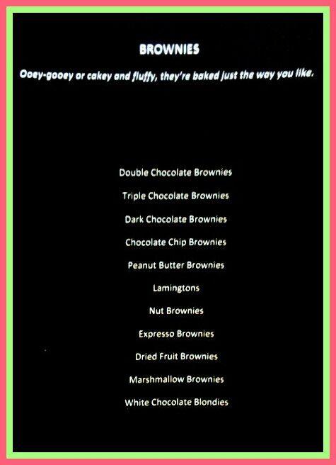 The ZA Brownies