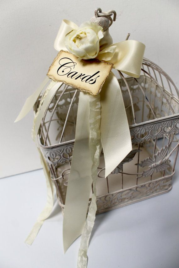 The 25 best Birdcage card holders ideas on Pinterest Gatsby