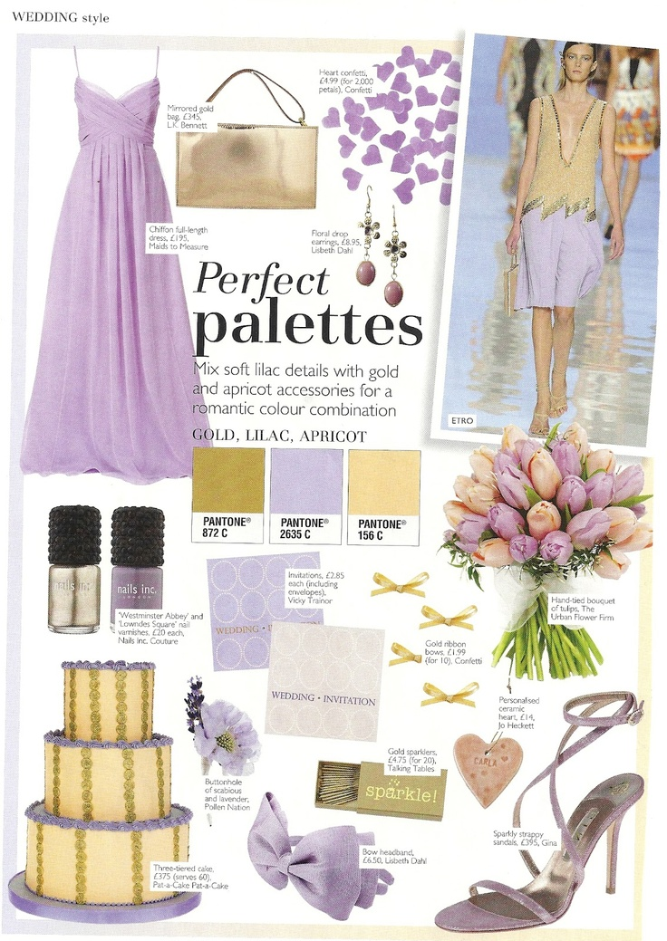 30 best Lilac  Gold Wedding images on Pinterest