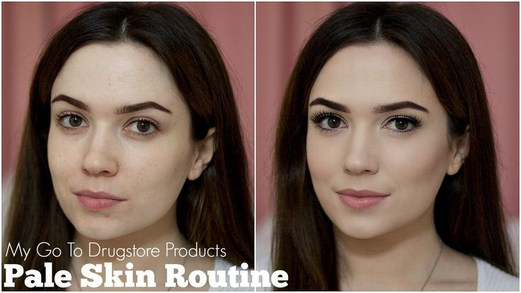 Pale Skin Routine | Foundation / Contour / Highlighter