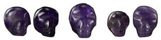 I have some small carved and polished Amethyst crystal skulls for sale. They have a very calming presence. Amethyst Crystal Skull | Crystal Rock | Rocks and Minerals www.theancientsage.com