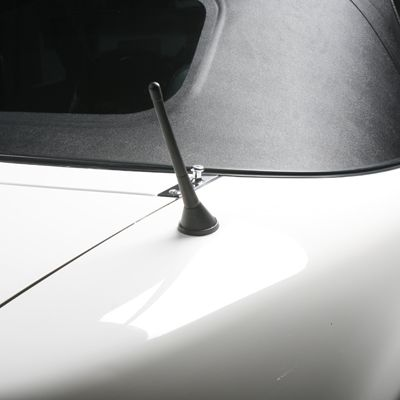 Amplified Raked Shorty Antenna | Small and powerful, that's the right combination.