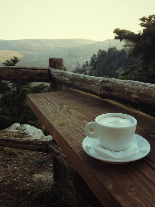 Coffee at Parnitha mountain..