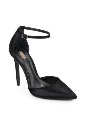 e4034d25e9a SCHUTZ Irma Suede   Calf Hair D Orsay Pumps.  schutz  shoes  pumps ...