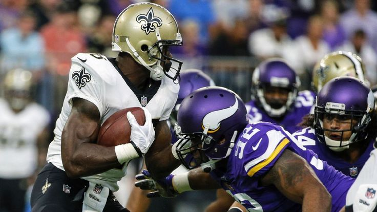 Quiet start for Adrian Peterson as Saints rotate running backs #FansnStars