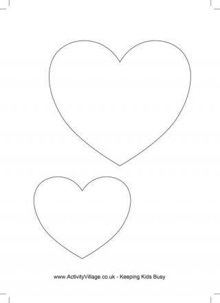 Best 25 Heart Template Ideas On Pinterest Diy Valentine