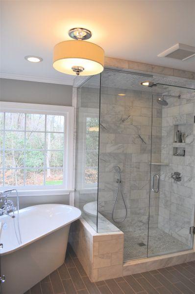 Corner tub bathroom ideas