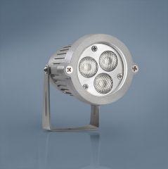 LED Gartenstrahler 9W RGB Dimmbar, steuerbar 24V DC