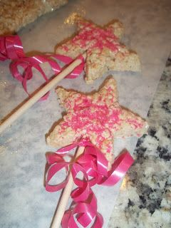 Princess Rice Krispie Wand ~ Perfect For A Little Girl's Birthday Party