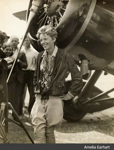 Powerful women - Amelia Earhart Never interrupt someone doing what you said couldn't be done. Amelia Earhart