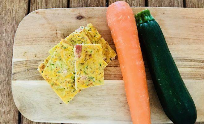 Easy Peasy Zucchini Slice-esy