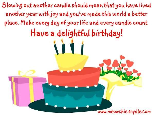 17 Best images about Happy Birthday Quotes – Quotes About Birthday Greetings