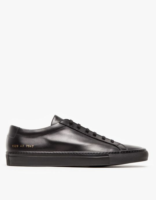 Common Projects / Original Achilles Low in Black