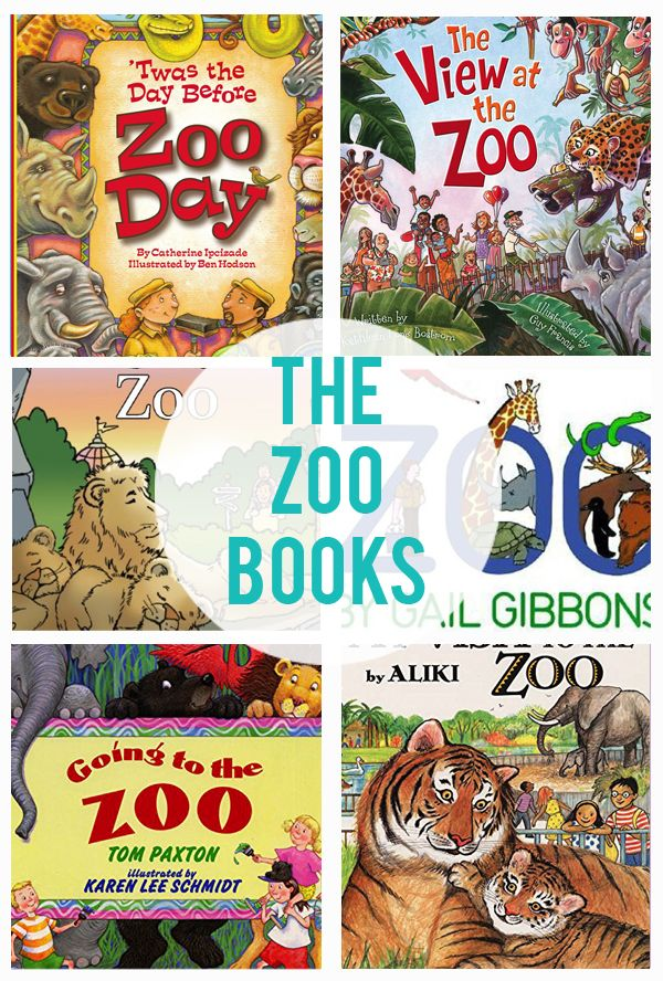 Zoo Books - Rounding up 10 awesome book for kids...all about The Zoo! Each book in this post teaches about the zoo and animals that live there.
