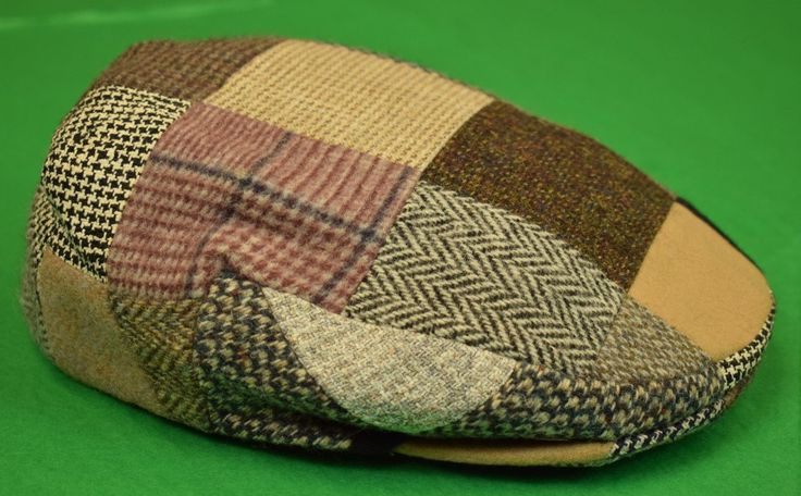 The Andover Shop Scottish Patch Tweed Wool Cap