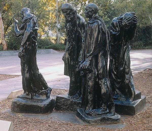 Auguste Rodin, 'Eustache de Saint Pierre', 1885-86 (cast 1984), bronze, National Gallery of Australia, Canberra, Purchased 1985