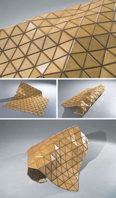 413 best advanced architecture geometry fabrication for Flexible roofing material