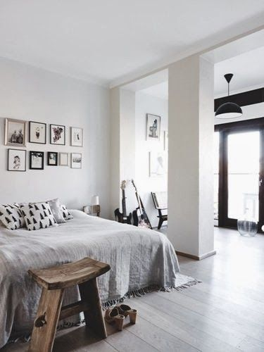 Scandinavian retreat decor pinterest industrial Industrial scandinavian bedroom