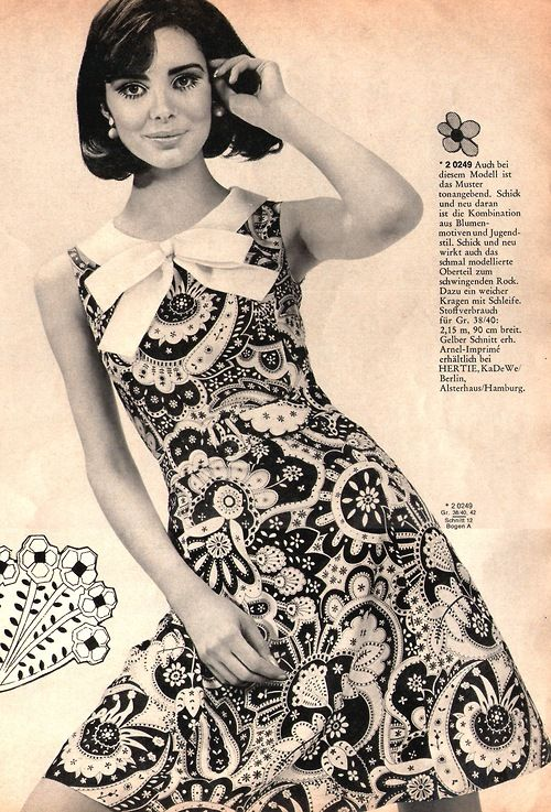 Early 1960's fashion                                                                                                                                                                                 More