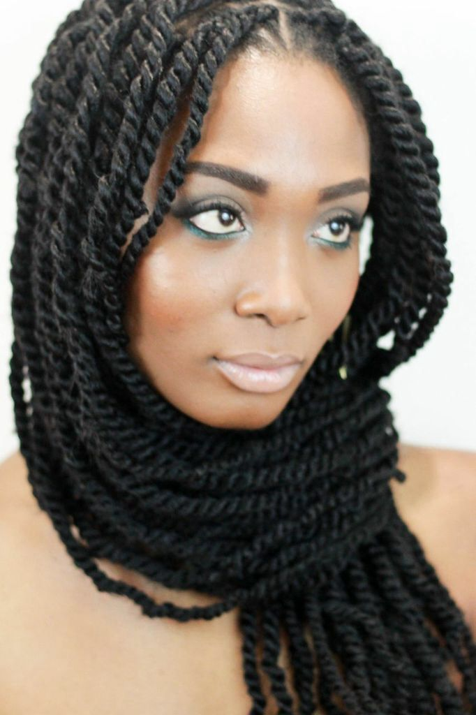 Marley Braids Twists Hairstyles: Marley Twists--thin As I Would Want, If Long