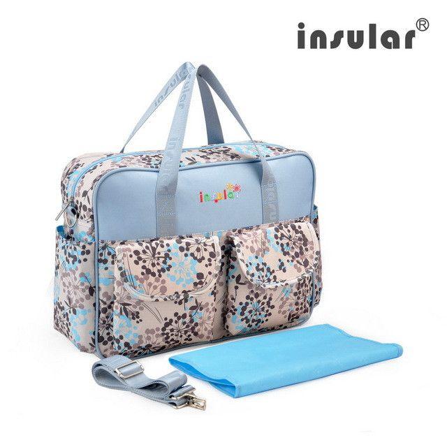Waterproof Mummy Bag Baby Diaper Bag Travel Nappy Changing Shoulder Bags
