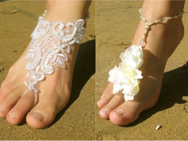 Casamento descalça