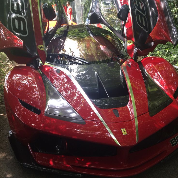 La Ferrari at the Goodwood Festival of Speed 2015