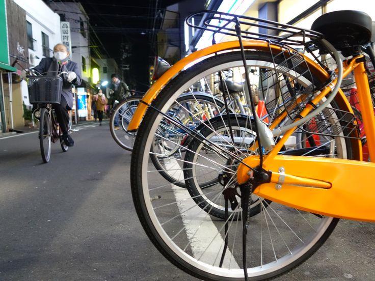 一個不能沒有腳踏車的國家-日本 JAPAN