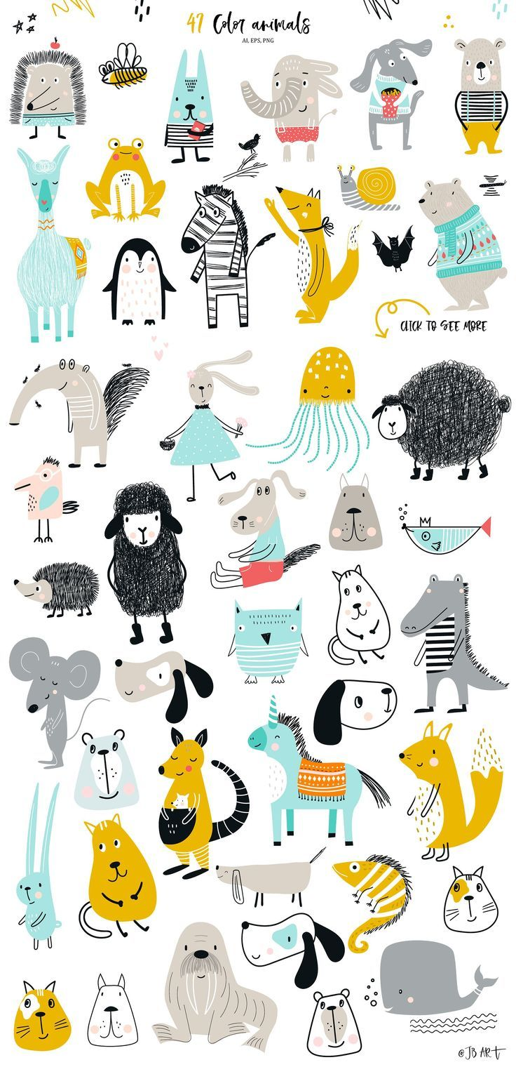 Big Kids Collection by JB ART on @creativemarket